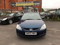 Mitsubishi Lancer 1.6 Equippe 4dr,automatic, 2 FORMER KEEPER,,2 KEYS,