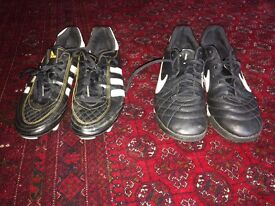 4 pairs of football shoes