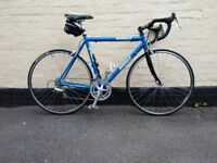 Ribble 56cm Alloy framed bike full campagnolo running gear NEW OLD STOCK OR LIGHTLY USED