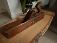 Collectable vintage wooden block plane