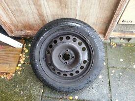 184x60xR15 on vauxhall Combo steel rim