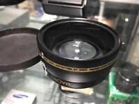 Macro XIT Pro Series 0.43x high definition AF wide angle lens 58mm