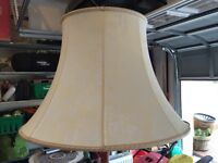 Lampshade for standard lamp
