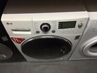 LG 11KG WASHING MACHINE WHITE RECONDITIONED