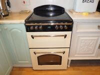 Leisure electric cooker, cream