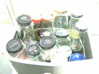 35 Good & Clean Jars with Lids - Wedding Tables - Fruit - Storage - **Free Delivery within Ipswich *