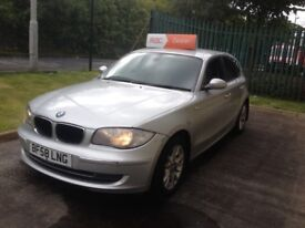 09 Bmw 118d se Business edition full grey leather fvsh bargain price warranty available px offers