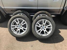 4 genuine BMW X3 X5 17inch Alloys wheels