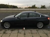 """BMW F30 320d LUX, BEST DIESEL CAR 2015 £30 TAX,0-62 7.5secs,68.9 MPG,184BHP,18"""" Alloys,Full leather"""