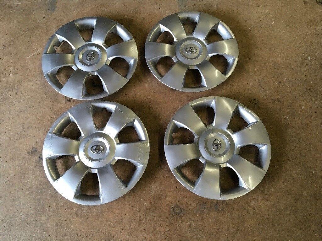"Toyota Yaris 15"" wheel trims X 4"