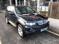 bmw x5 2006 55 plate 3.0d sport auto facelift sat nav panramic glass roof heated leather seats