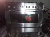 Delonghi professional range cooker