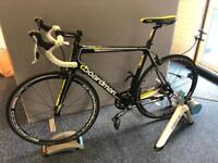 Boardman Team Carbon Road Bike (upgraded wheels)