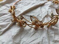 Wedding tiara headband