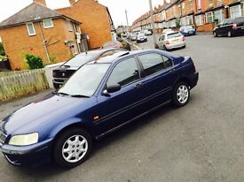 HONDA CIVIC 1.4cc CHEAP TO INSURE BARGAIN 4 DOOR GOOD FOR NEW OR YOUNG DRIVER
