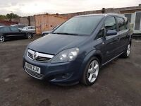 2008 Vauxhall Zafira 1.8 i 16v SRi 5dr GREAT SPEC+7 SEATER