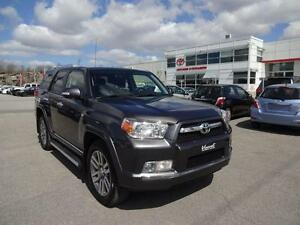 2013 Toyota 4Runner LIMITED 7 PLACES MAGS TOIT GPS CUIR ALL HIST