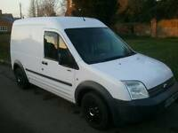 TRANSIT CONNECT L230 L90 LWB HIGH TOP, 57plate, 12 MONTHS MOT, FSH,MINT, NO VAT.