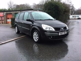 Renault Grand Scenic 2.0 DCI Dynamique 7 seater, Full service history