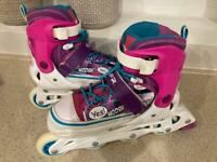 SFR Rollerblades Adjustable UK size 3-6 plus Accessories