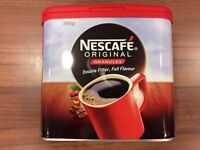 Nescafe Original Coffee Granules 750g AND Nescafe Gold Blend 750g Tin COFFEE.