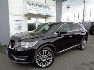 2016 Lincoln MKX Reserve, AWD, Eco-Boost, Nav, Cooled Seats