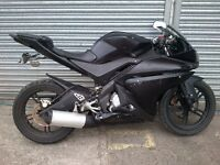 YAMAHA YZF-R125 FULL BODY SET, COMPLETE FAIRING KIT EVERY PLASTIC PANEL ON THE WHOLE BIKE YZFR125