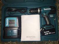BRAND NEW MAKITA 18V Li-ion Cordless Hammer Driver Drill DHP453RF