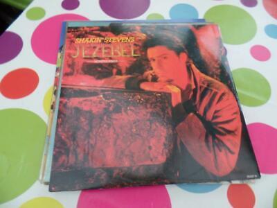 """SHAKIN` STEVENS - JEZEBEL(MONSTER REMIX)-12"""" UK EPIC LABEL 1989-EX+/EX++"""