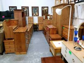 Pine furniture chests.wardrobes and bedsides
