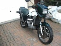 Motorbike Honda CX 500 Ec 1983 Y V5c Good Restoration Project