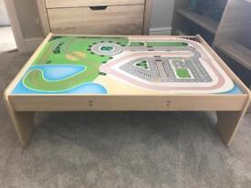 Big jigs train table