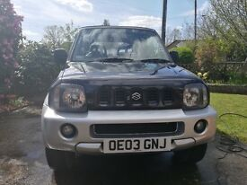 SUZUKI JIMNY O2, 1.3 LITRE, LOW MILAGE, BLACK AND SILVER