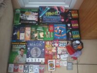*** Huge job lot of *Magic* tricks, books, playing cards, juggling etc *** present for magician!!