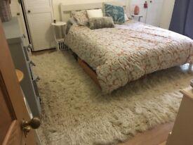 Floraki pure wool rug 9 foot by 6foot