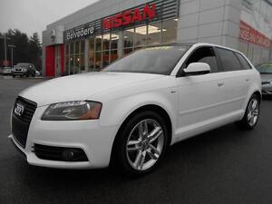 2012 Audi A3 2.0T AWD S LINE CUIR TOIT PANORAMIQUE BLUETOOTH