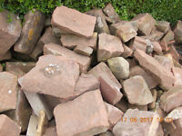 Sandstone suitable for Walling/Rockery
