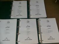 Jaguar XJ6 2.9 - 3.6 Service Manuals