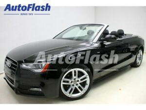 2015 Audi A5 Technik Quattro Convertible *Bang-&-Olufson* Full!