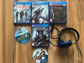 ps4 games , as new ! £10 each or everything in pic for £50 ! price stands , no offers !