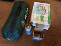Welland Euro Hike 4 Man Tent & Camping Equipment - Bargain Deal!