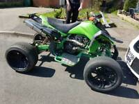 ** 250CC QUAD ON ROAD ** Full Logbook, 12 Months MOT, Wheelie Machine!