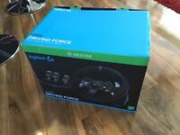 Logitech G920 Xbox One Steering Wheel and Pedals