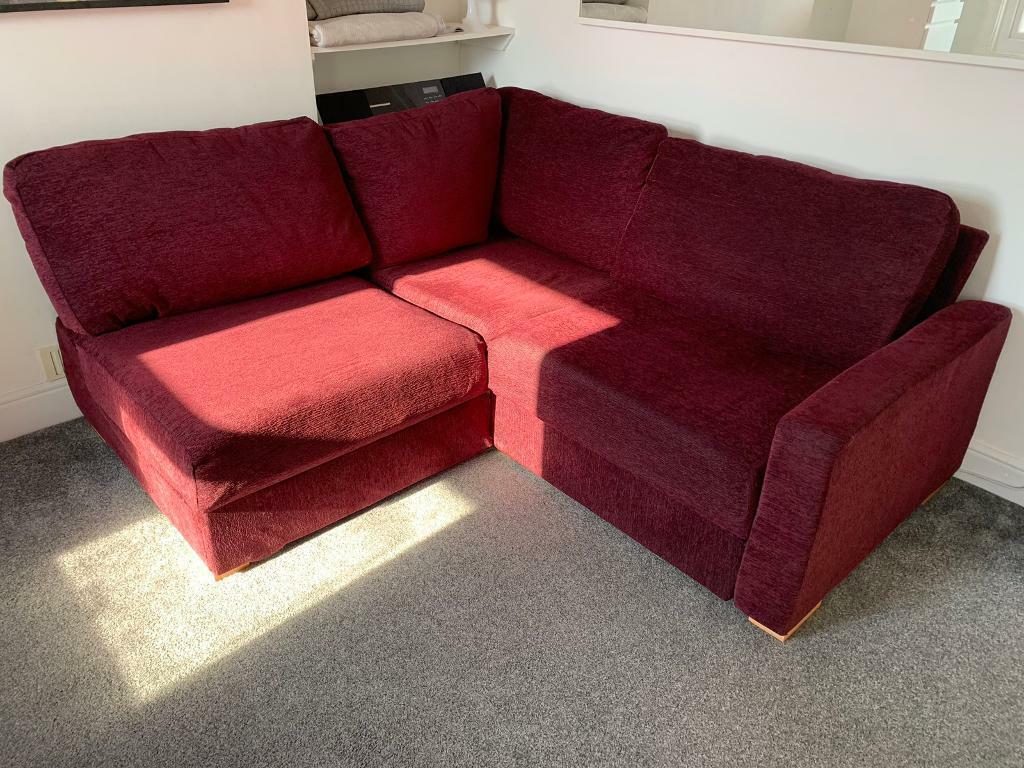 Corner Sofa -Nabru - Ula armless 2x2   in Camberwell, London   Gumtree