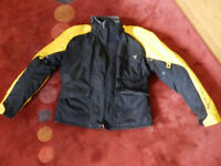 Dainese goretex motorbike jacket for sale