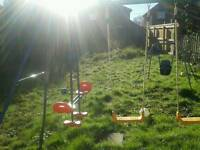 Childs outdoor swings