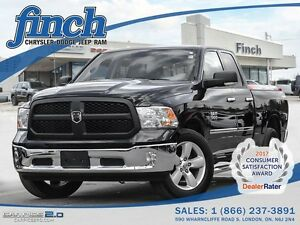 2013 Ram 1500 SLT 4X4/V6/8.4 TOUCH SCREEN/GAS SAVER