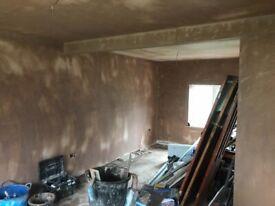 N.D plastering