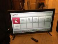 LG 42 inch slim LED tv