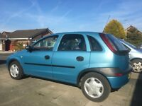 Vauxhall Corsa C 1.7 DI 68K MOT July